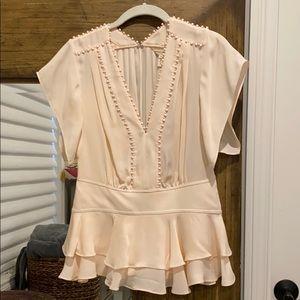 Rebecca Taylor 100% silk blouse